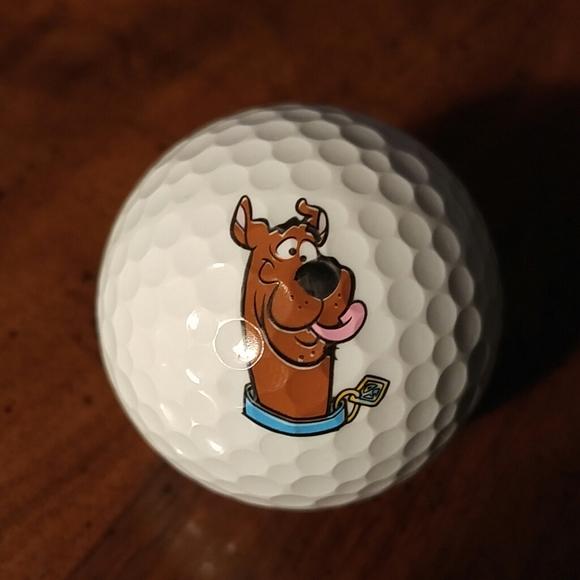 Scooby doo golf ball